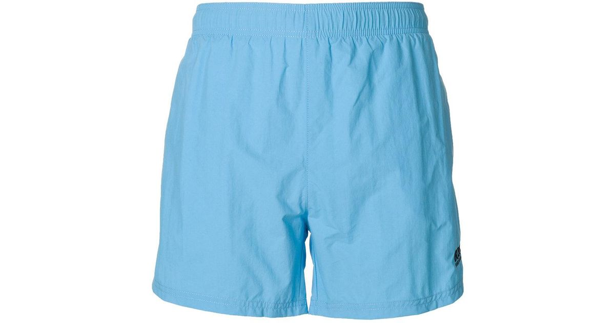 ef2925d407 Lyst - BOSS Logo Swim Shorts in Blue for Men