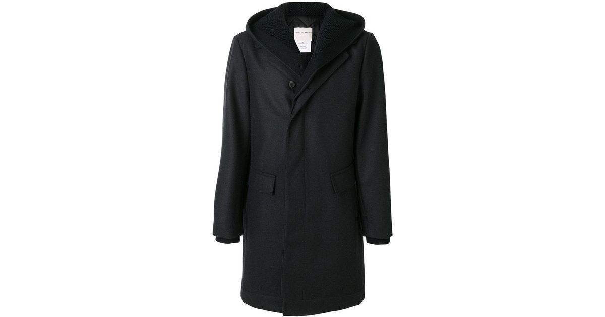Blue Schneider for in Stephan Coat Lyst Concealed Hooded Men a1xA0nW