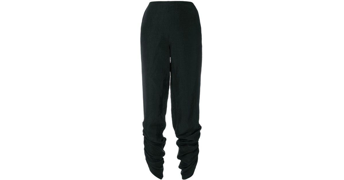 ruched fitted leggings - Black Pringle Of Scotland JHbENLyHfY