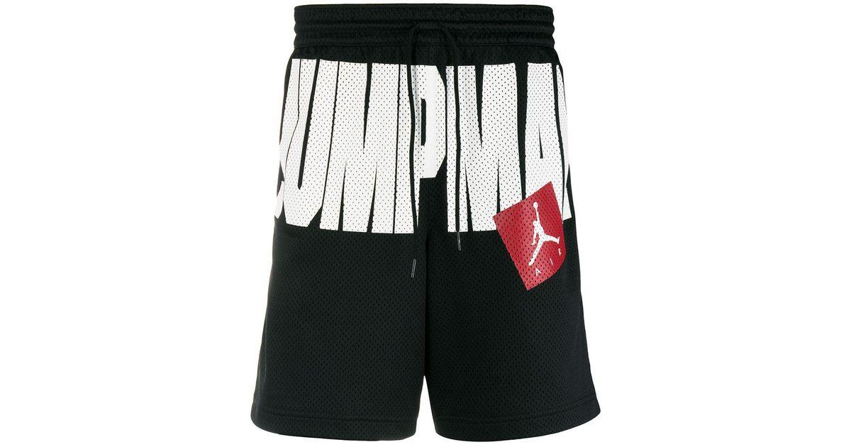 último vendedor caliente ahorre hasta 80% últimos lanzamientos Pantalones cortos Jordan Jumpman Air Nike de hombre de color Black