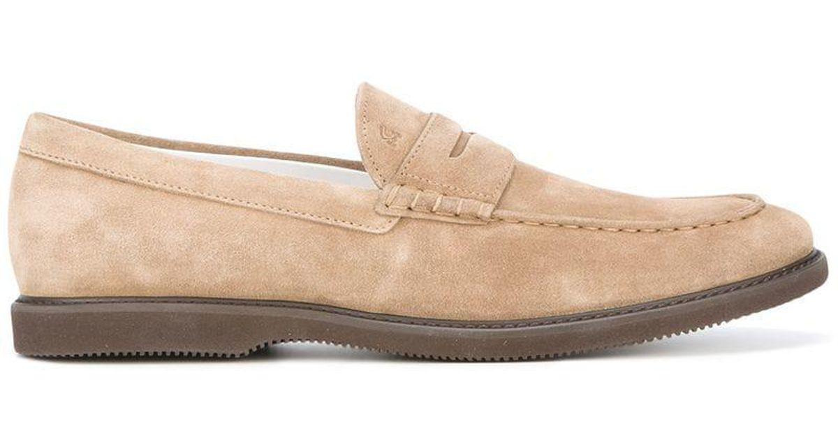 906a135f05d Hogan Herren Loafers in Natural for Men - Lyst