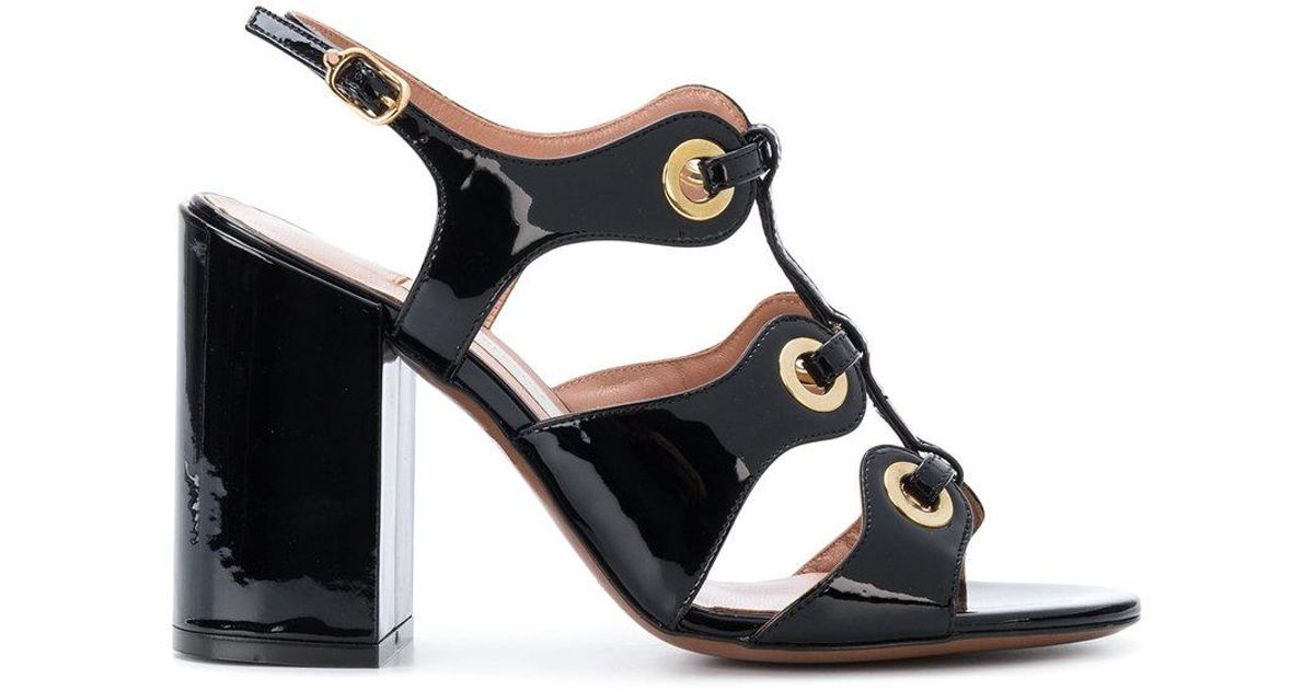 L Autre Chose Eyelets strappy sandals Affordable Online Cheap Sale New Low Shipping Fee Online Discount Factory Outlet vLxJKx