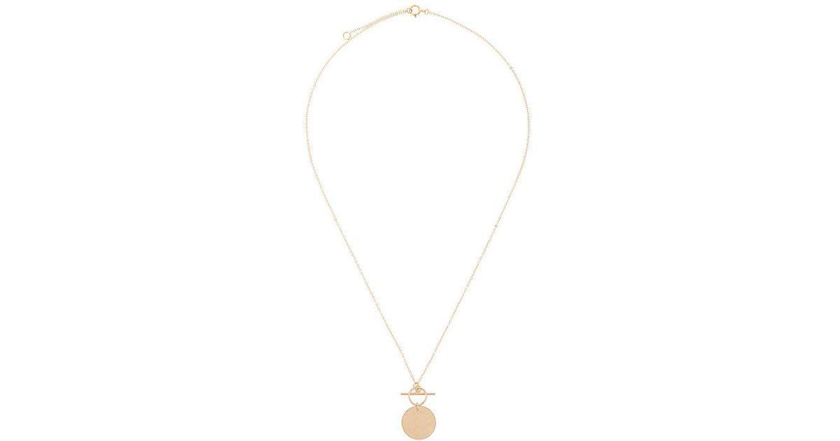 PetiteGrand Fob necklace - Metallic QDY0280De