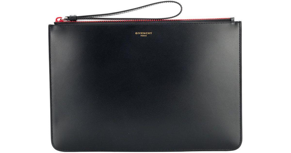 Givenchy Pochette zippée à logo lNgpVLqrU