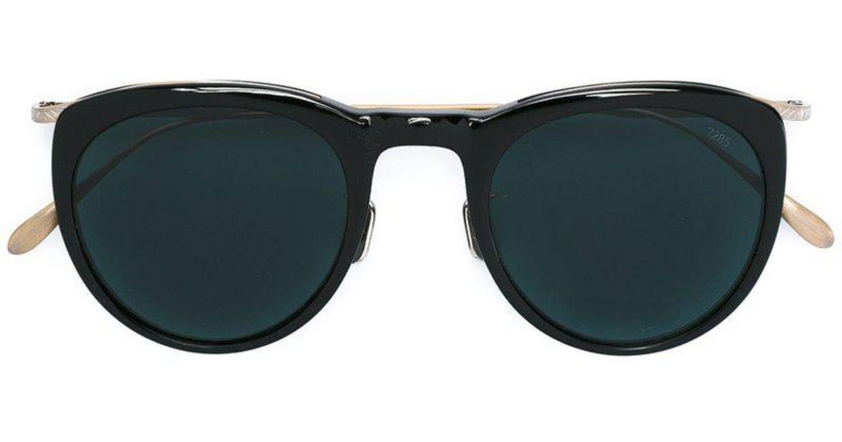 0445afea29d2c Lyst - Lunettes de soleil à monture ovale Eyevan 7285 en coloris Noir