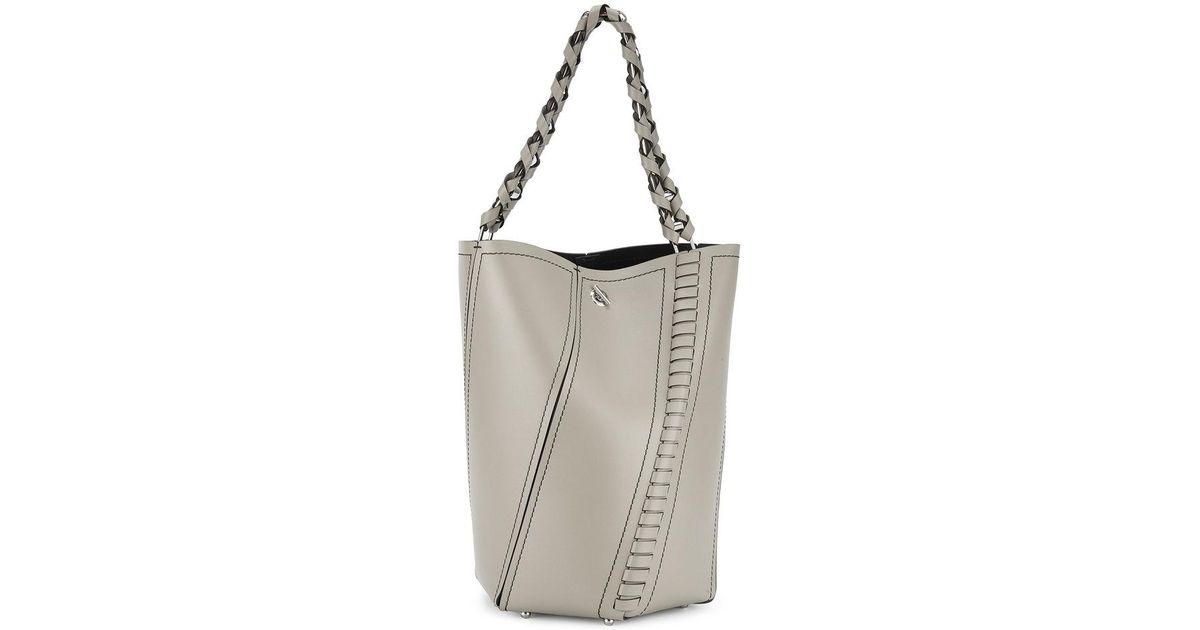 Cheap Sale Big Sale Perfect For Sale Taupe Hex Medium Leather Bucket Bag - Nude & Neutrals Proenza Schouler Clearance Cost Cheap Sale Authentic Very Cheap For Sale U0TfNy