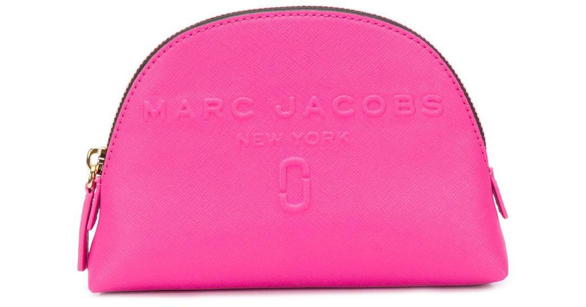5d314f7e0b60 Lyst - Marc Jacobs Dome Cosmetics Bag in Pink - Save 9.836065573770497%