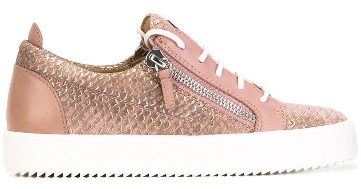 Nicki low top sneakers - Pink & Purple Giuseppe Zanotti 7BUB5Y