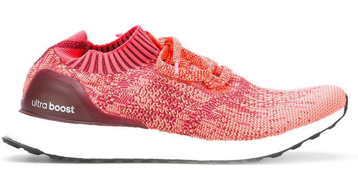 7275b27ea37 Adidas Ultraboost Uncaged Running Sneakers in Red - Lyst