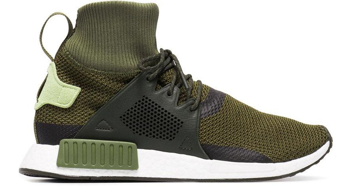 60439ed19 Lyst - adidas Green Nmd Xr1 Winter Sneakers in Green for Men