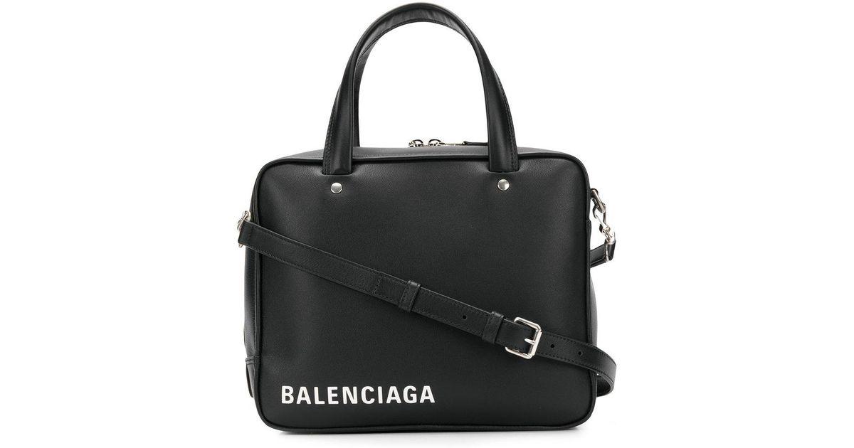 d16197e304 Sac à main Triangle Square S AJ Balenciaga en coloris Noir - Lyst