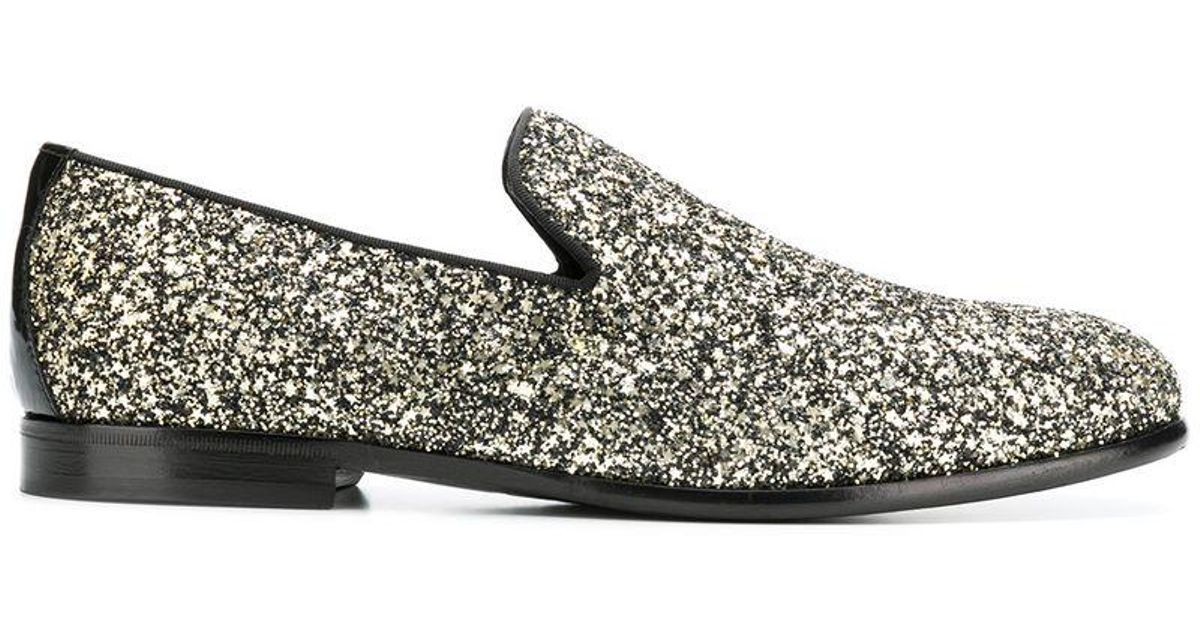 f90604ac1e19c Lyst - Jimmy Choo Marlo Loafers in Black for Men