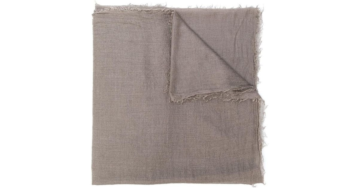 Cashmere scarf Rick Owens s5r3sOZ3