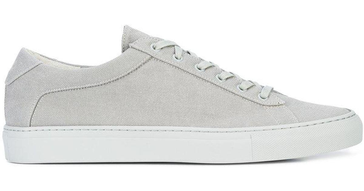Osklen panelled sneakers - Brown farfetch neri 8fTndm8Q