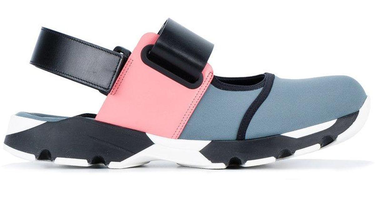 Sneaker Marni Sandal Black Block Colour Pk8ZXnN0wO