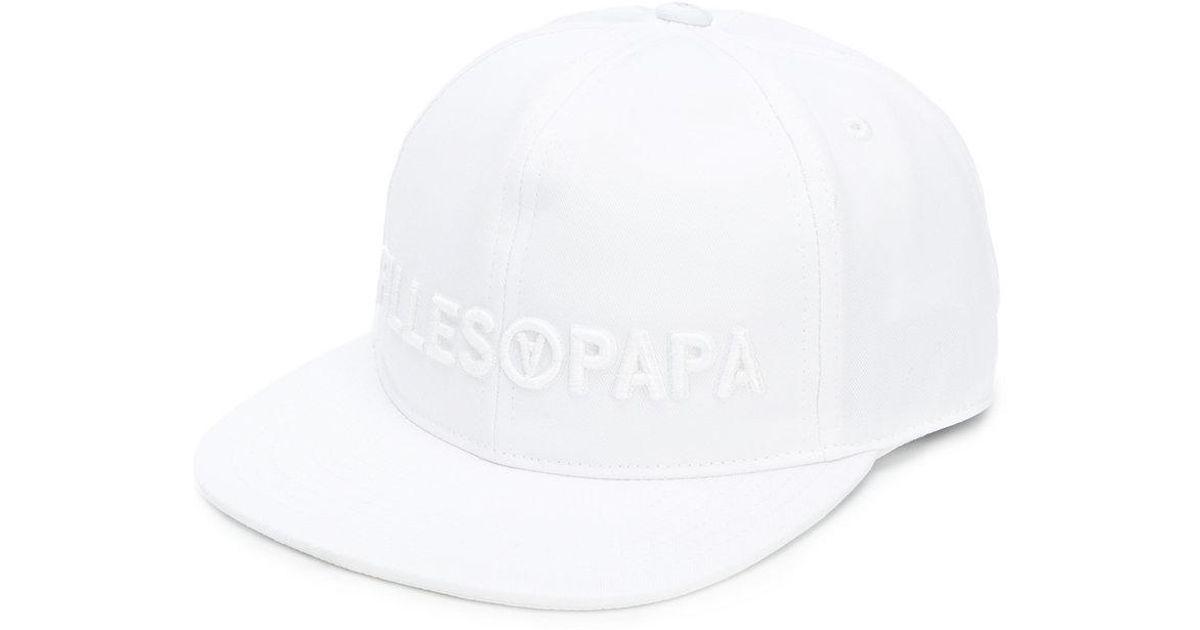 embroidered logo cap - Black Filles A Papa B1q31q