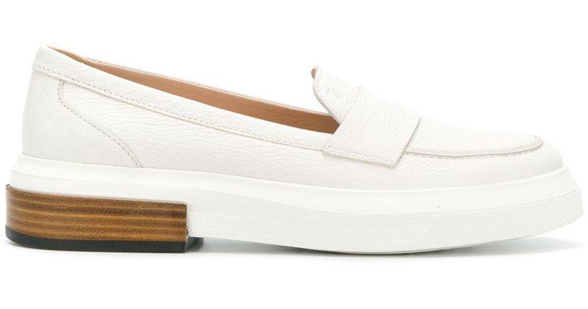 flatform penny loafers - Blue Tod's RFUZbylg5
