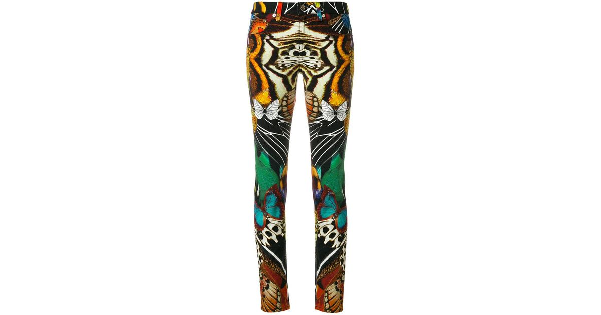 Buy Cheap For Nice floral print trousers - Multicolour Roberto Cavalli Pictures For Sale Online Cheap Authentic Professional Sale Online Best Place For Sale hnrmZe0Bh