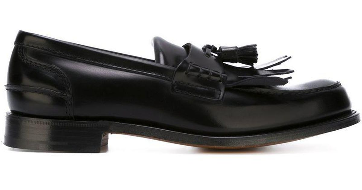 Lyst - Church s  oreham  Loafers in Black for Men e022d3b882a