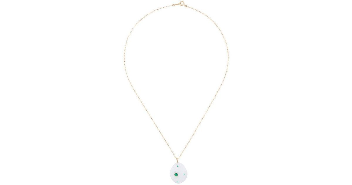 CVC Neiva pebble necklace - Metallic hMaI65Yw57