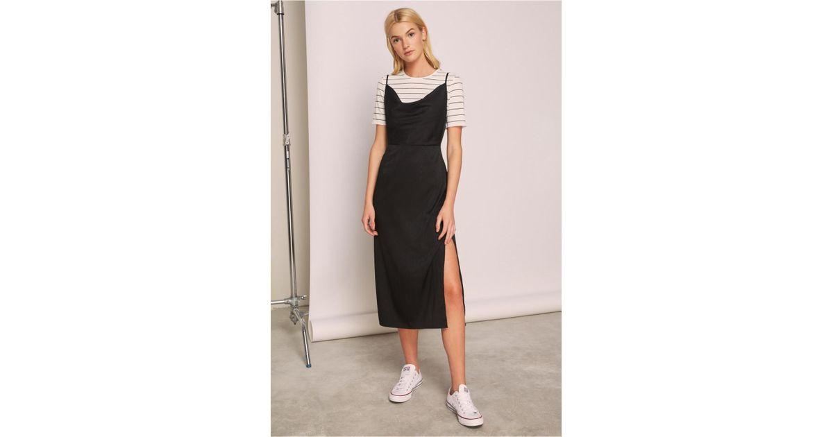 3c1f71ebd0 Lyst - The Fifth Label Lotti Slip Dress in Black