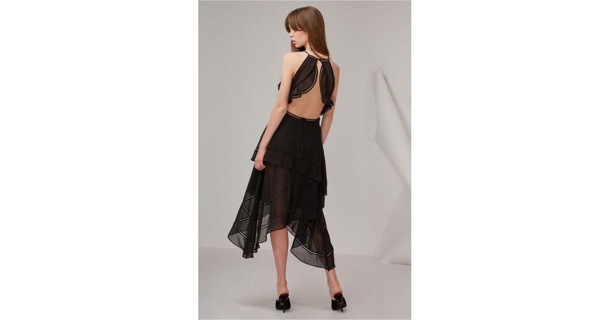 Lyst Keepsake Lovers Holiday Dress In Black