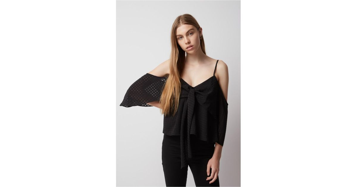 77c8fda49c Lyst - The Fifth Label Anytime Anywhere Top in Black