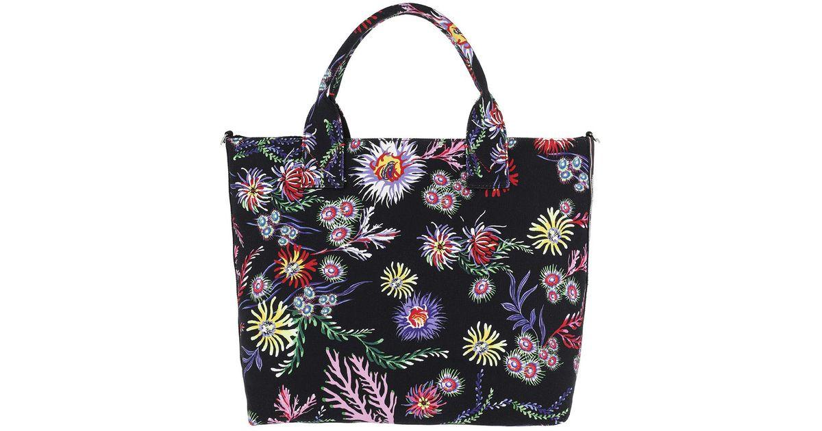 Capasanta Canvas Handle Bag Nero Limousine Shopper schwarz Pinko bnIbXb