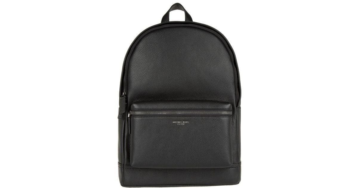 7e9238c0731c2 Michael Kors Bryant Leather Backpack Black in Black - Lyst