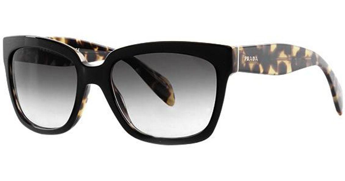 Prada negro damas 0pr 56 07ps sol Pr para de Gafas Nai0a7 qCvwH7xx