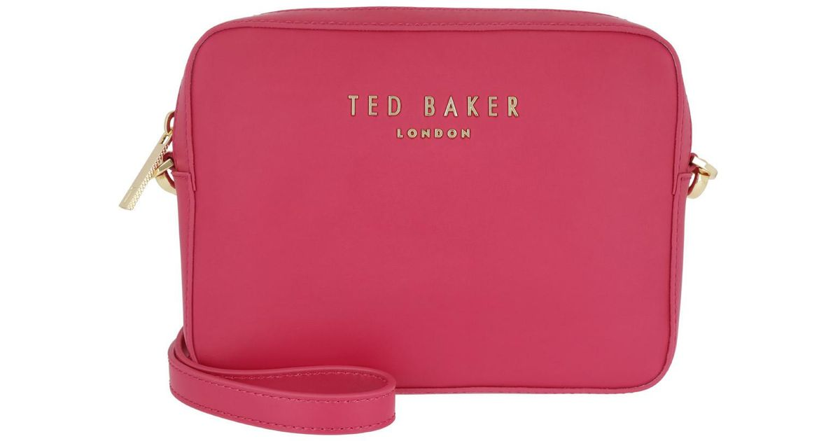 2741bf9b0 Ted Baker Emilii Statement Letters Xbody Bag Fuchsia - Lyst