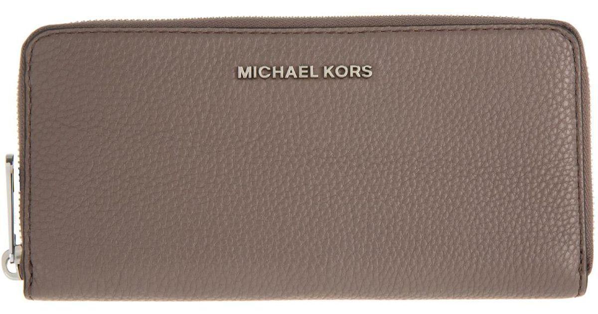 c009f77d4b33 Michael Kors Bedford Za Continental Wallet Cinder - Lyst