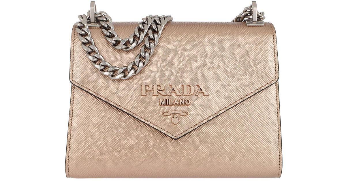 38b08905e439aa Prada Monochrome Crossbody Bag Medium Cipria in Natural - Save 22% - Lyst