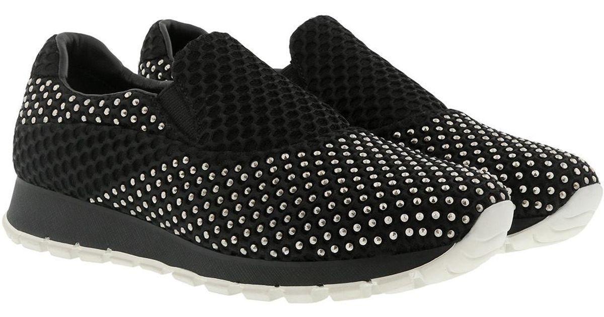 Chaussures De Sport - Abeille 3 En Cours D'exécution Calzature Noir - Noir Donna - Chaussures De Sport Pour Dames Prada YsVCGqaX
