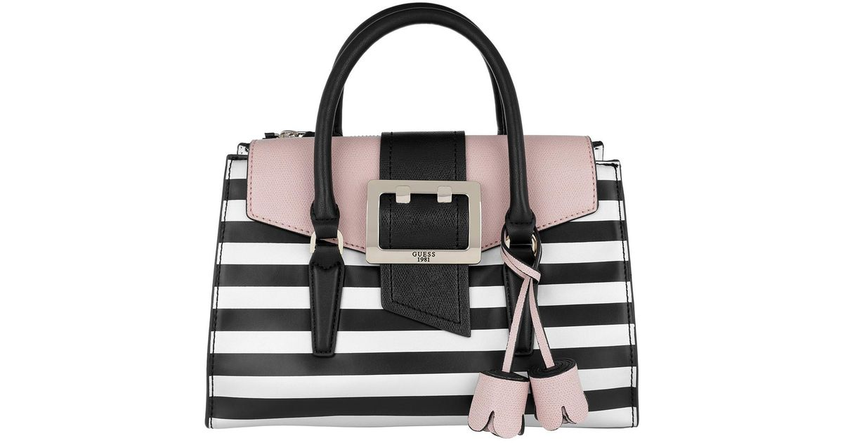 87869d50c3 Guess Black And White Striped Purse - New image Of Purse