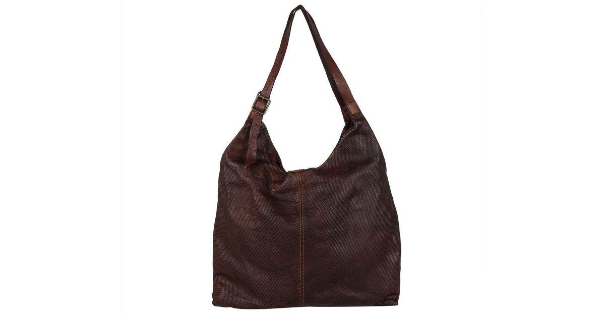 03f5897ccbc5 Campomaggi Sacca Alta Vacchete Hobo Bag Cognac in Brown - Lyst