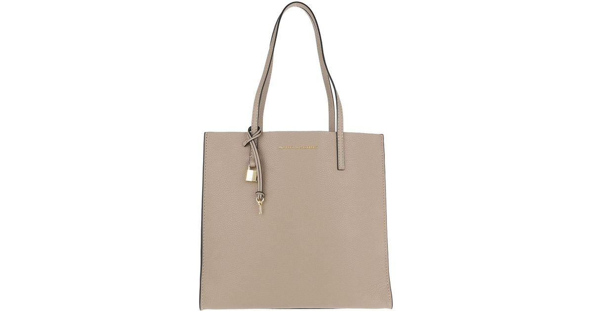 Marc Jacobs The Grind Shopper Tote Bag Stone Light Slate in Natural - Lyst e5e41ba1129e