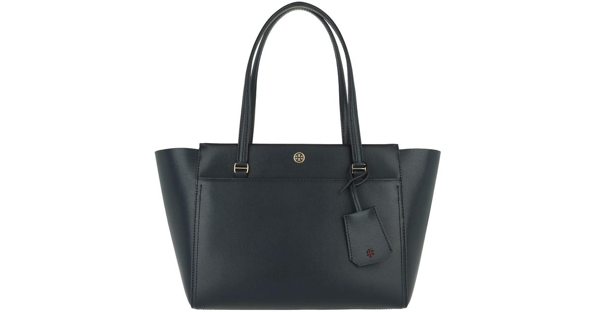 7bd4c27bc542 Tory Burch Small Parker Tote Bag Tory Navy samba in Blue - Lyst