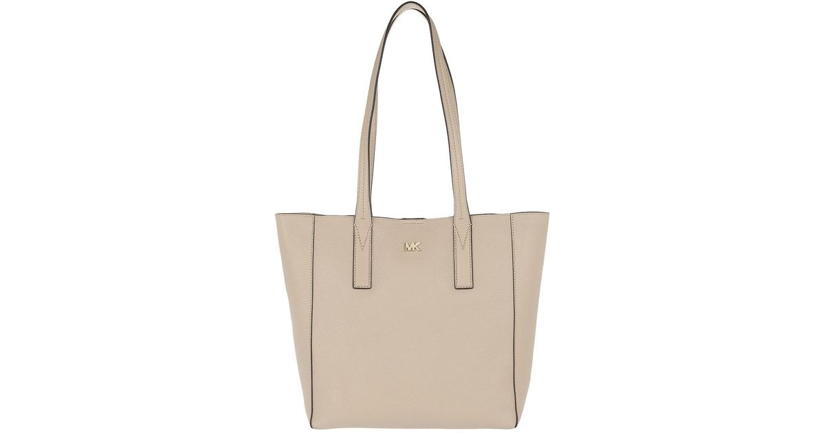 21f973a1147b8 Michael Kors Junie Md Tote Truffle in Natural - Lyst