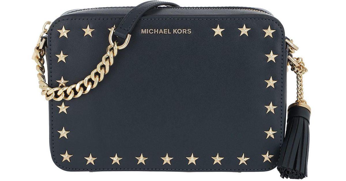 2efc7cefd8d893 Michael Kors Md Camera Bag Admiral in Blue - Lyst