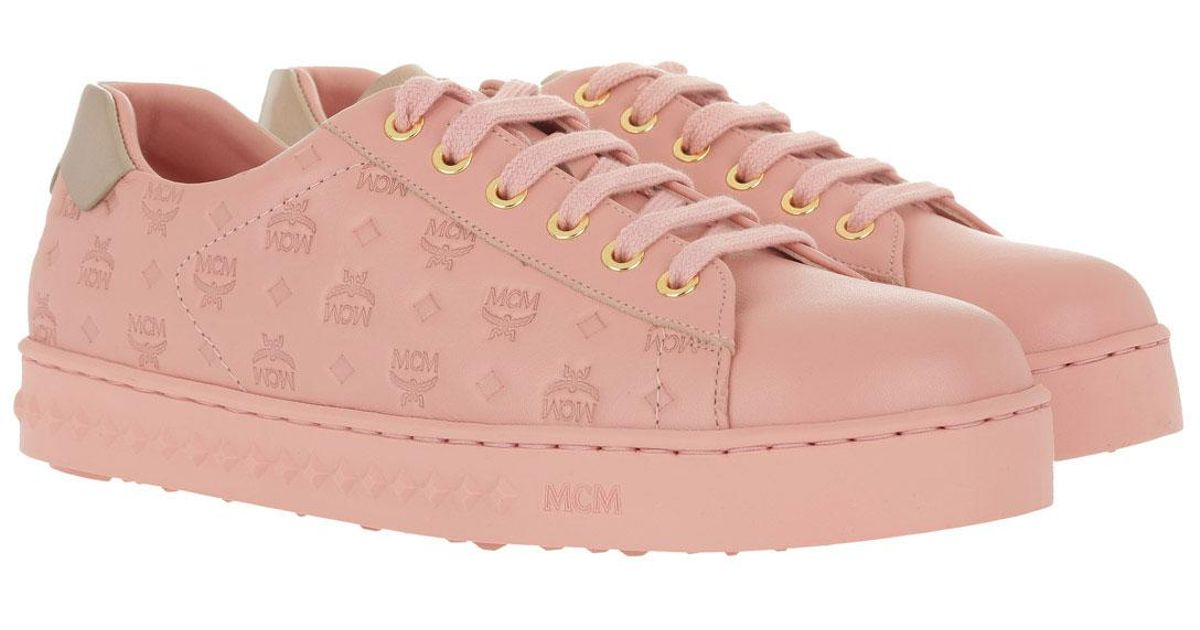 MCM W Sneakers Soft Pink in rosa | fashionette
