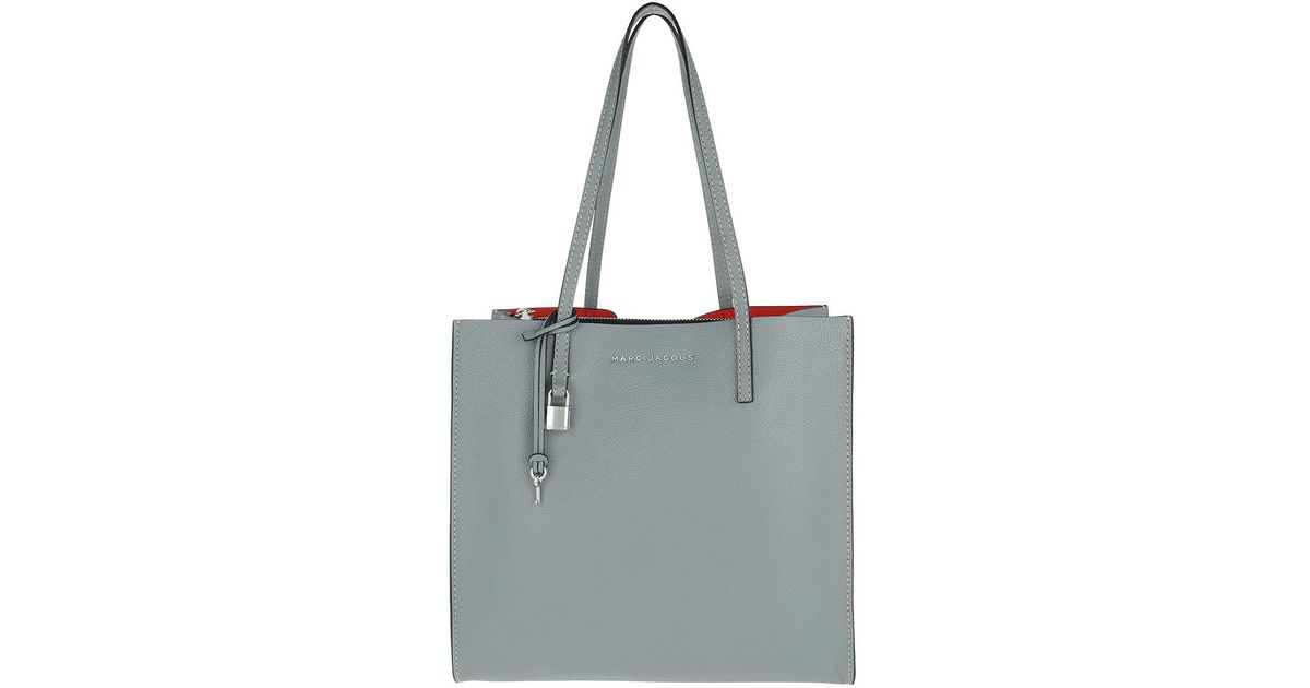 3ec662a6c20b Marc Jacobs The Grind Shopper Tote Bag Slate in Gray - Lyst