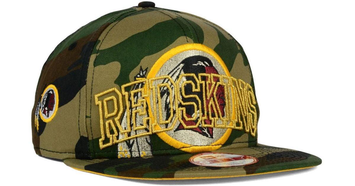 a487742d85114 Lyst - KTZ Washington Redskins Metallic Cue 9fifty Snapback Cap for Men