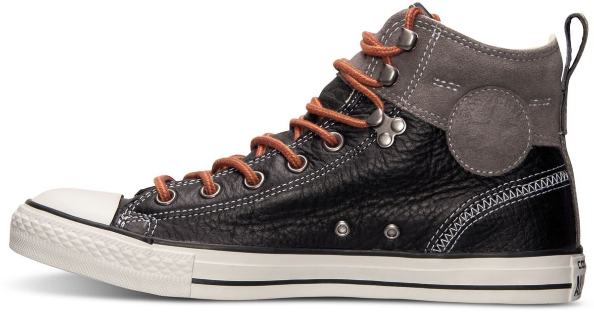 b0a8263fc249 Lyst - Converse Men s Chuck Taylor All Star Hiker 2 Sneakers From Finish  Line in Black for Men