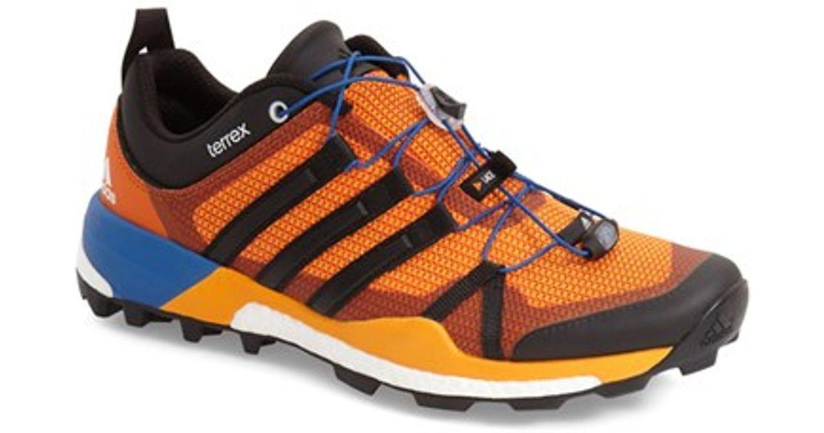 135781d972aa30 Lyst - adidas Originals  terrex Skychaser  Trail Running Shoe in Orange for  Men
