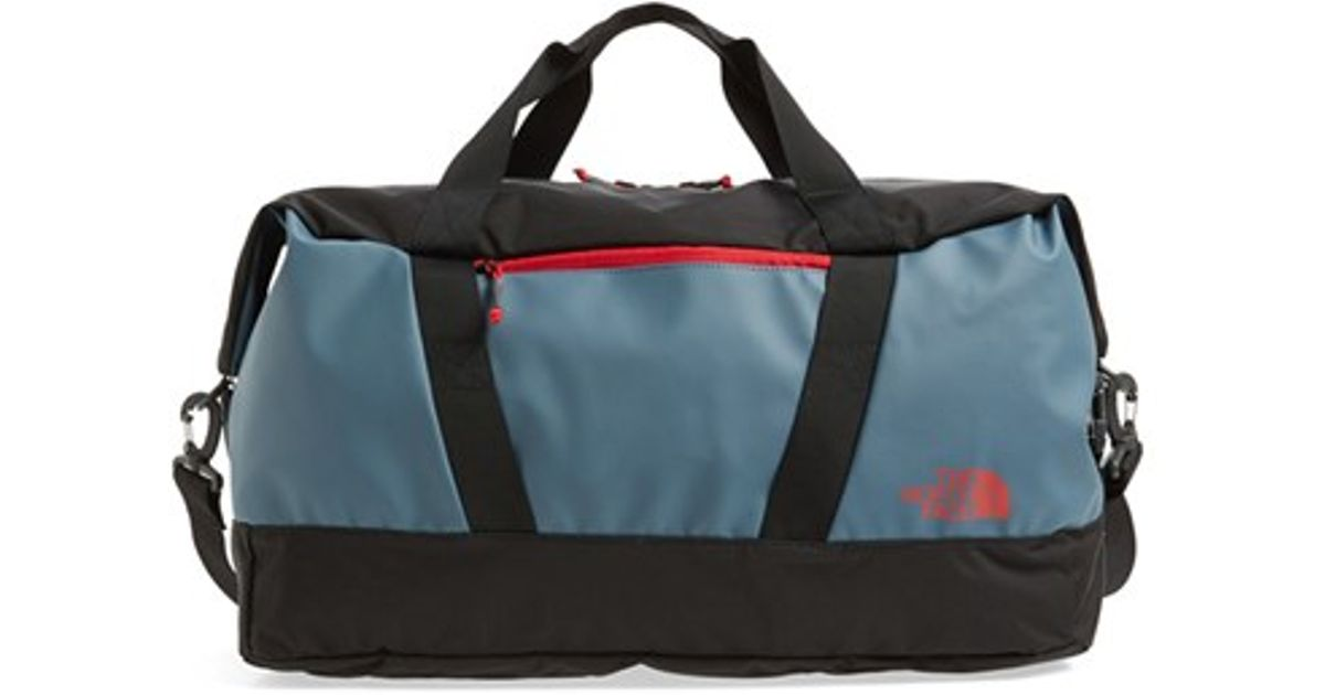 32e98f3db7 ... Lyst - The North Face apex Gym Duffel Bag in Blue for Men timeless  design 7b4d7 ...