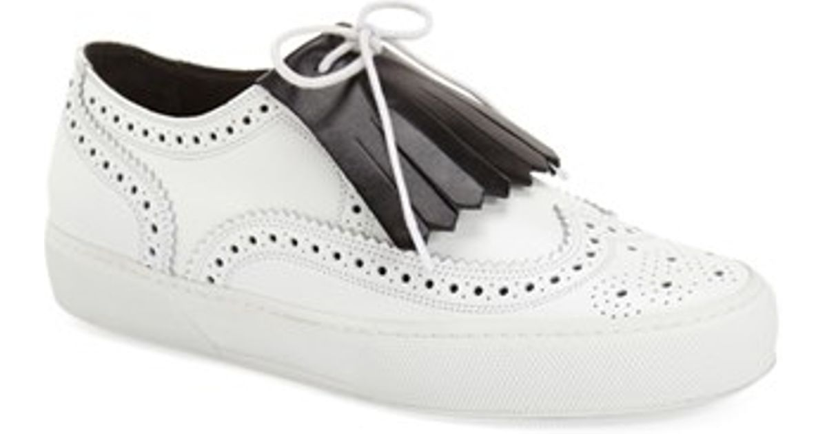 Robert Clergerie Clergerie Paris Kiltie Brogue Sneakers free shipping with credit card for sale the cheapest geniue stockist cheap online discount newest fashion Style boSI8D