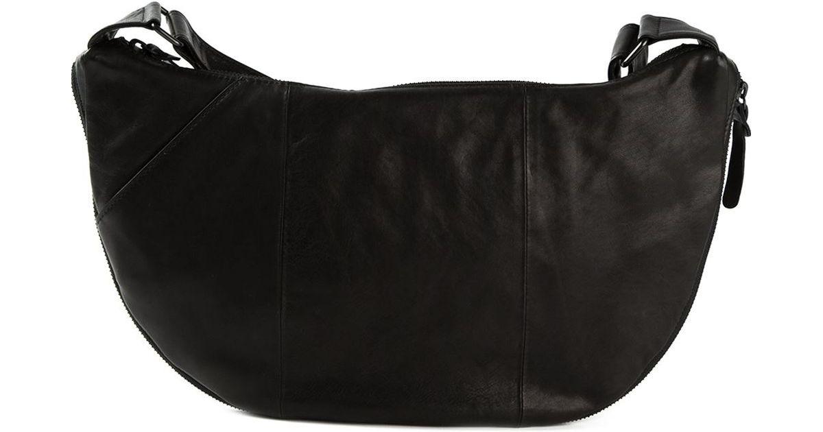 59075be3e45d Lyst - Yohji Yamamoto Semicircle Messenger Bag in Black