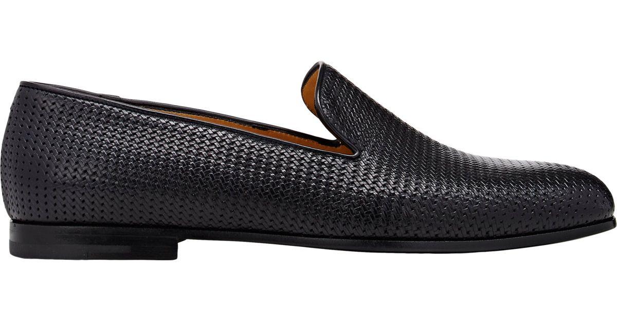 Giorgio Armani Woven Loafer Ag1BbxKZ2