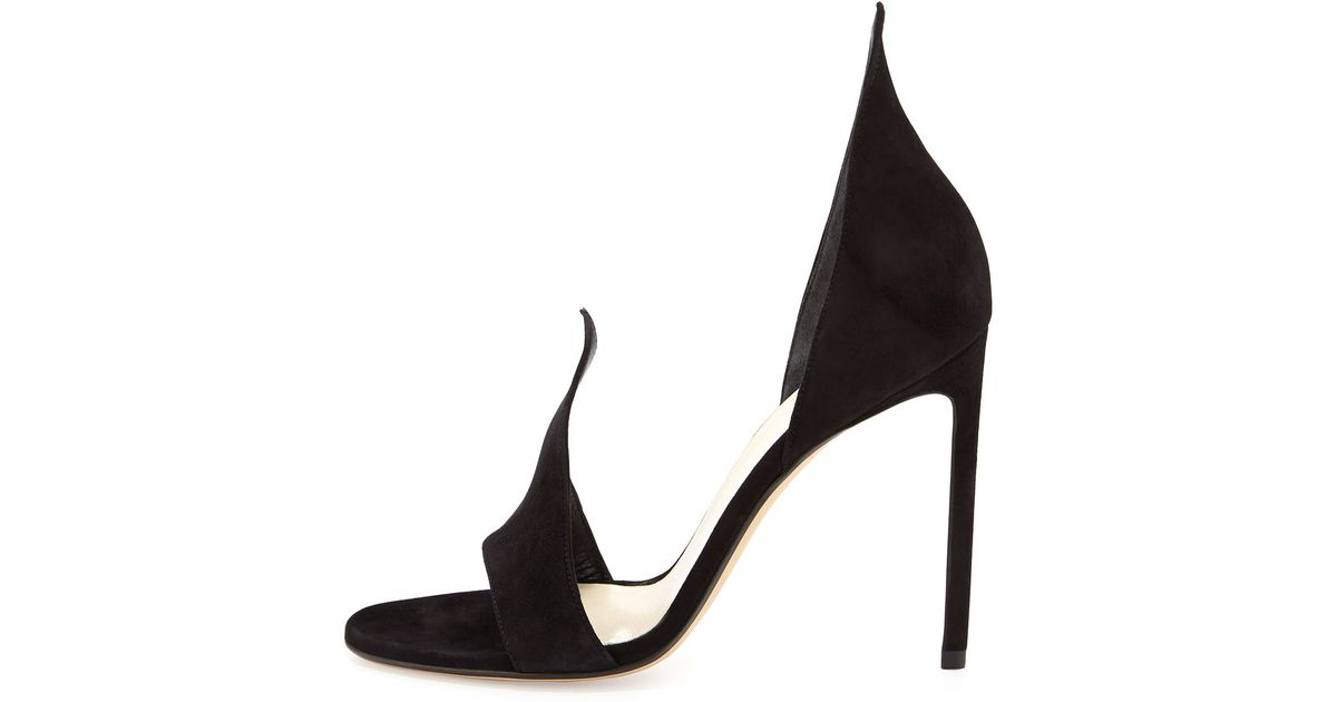 Suede sandals Francesco Russo